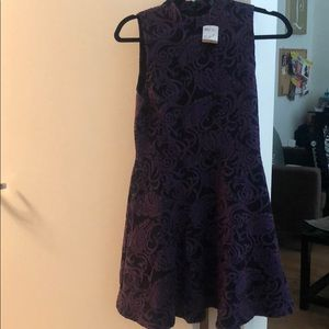 Forever 21 purple and black dress